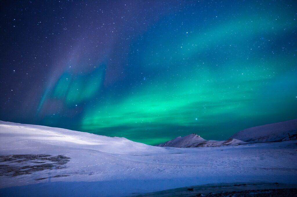 aurora, polar lights, northen lights